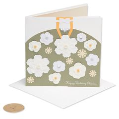 Floral Wedding Shower Greeting Card