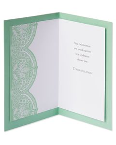 Celebration Wedding Card