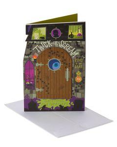 Trick-or-Scream Halloween Card