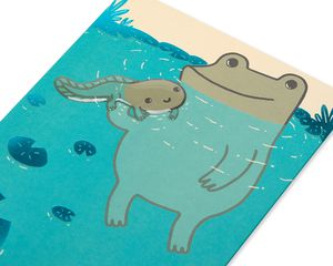 Tadpole Father's Day Card