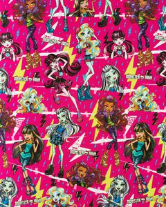 Monster High Wrapping Paper, 20 sq. ft.