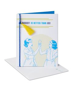 Nobody Better Thinking of You Card