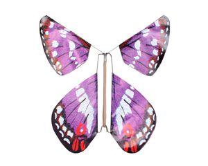 TOPS Malibu Purple Magic Flying Butterfly