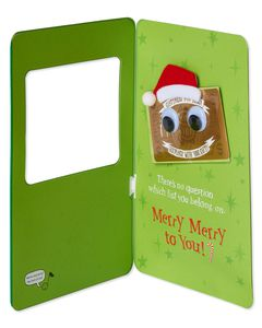 Naughty or Nice Gift Card Holder Christmas Card
