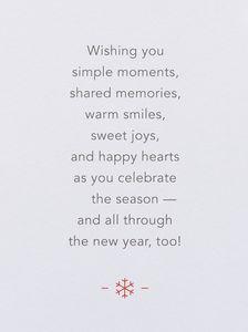 Celebrate the Season Happy Holidays Card