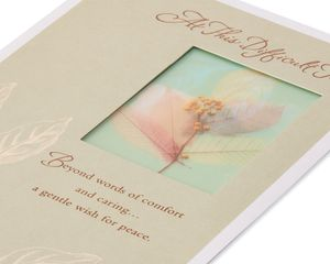 Gentle Wish Sympathy Card