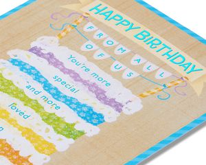 From All of Us Birthday Card