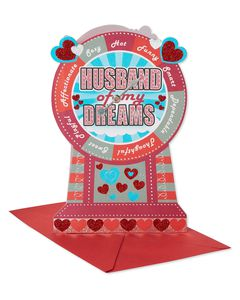 My Dreams Valentine's Day Card for Husband