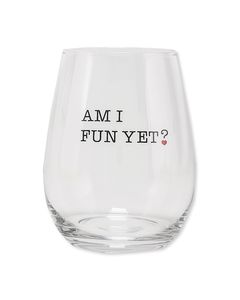 5 o'clock & fun wine glasses (set of 2)