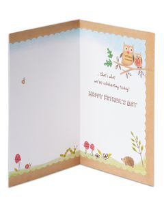 Forest Animals Father's Day Card for Grandpa