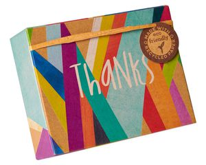 Colorful Geometrics Boxed Cards and Envelopes, 16-Count