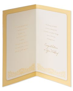 Bride and Groom Wedding Card