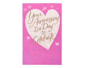 Celebrate Anniversary Card for Couple