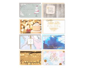 Special Occasions Greeting Card Collection, 8-Count