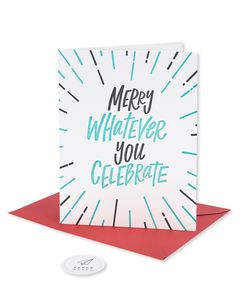 whatever you celebrate holiday card