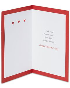 You Make My Eyes Happy Funny Valentine's Day Card