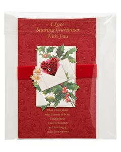Christmas with You Sentimental Christmas Card
