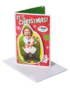 Elf Holiday Card