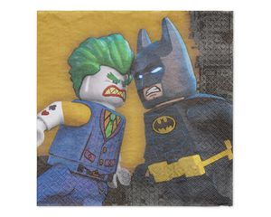 lego batman lunch napkin 16 ct