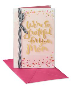 Happy Hearts Mother's Day Card from Both