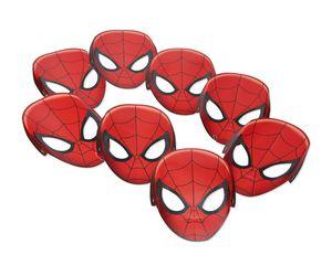 Spider-Man 8-Count Paper Masks