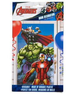 Avengers Epic Door Cover, Party Supplies