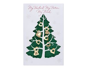 Partner Friend Christmas Card for Husband