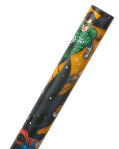 Christmas Wrapping Paper, Justice League, 60 Sq. Ft. Total