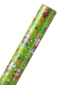 Christmas Wrapping Paper, PAW Patrol, 20 sq. ft.