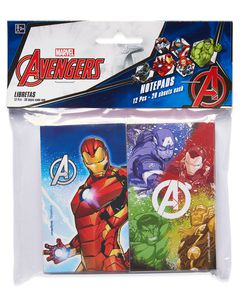 Avengers Epic Mini Notepads, 12 Count, Party Supplies
