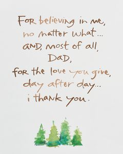 Kathy Davis Guidance Birthday Card for Father