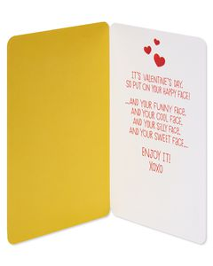 Smilies Valentine's Day Card