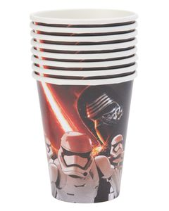 Star Wars Episode VII 9-oz. Paper Cups, 8 Count
