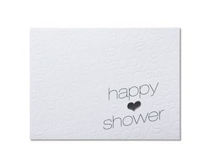 Happy Thought Bridal Shower Card
