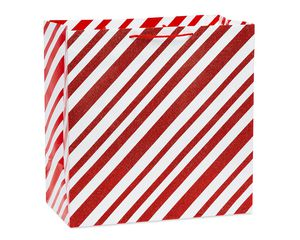 Super Jumbo Candy Cane Stripes Christmas Gift Bag