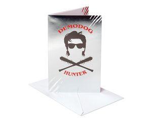 Stranger Things™ Demodog Hunter Birthday Card