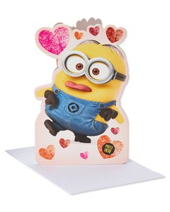 Despicable Me Valentine's Day Card