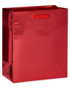 Extra-Small Red Foil Gift Bag