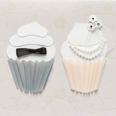 Cupcakes Wedding Greeting Card
