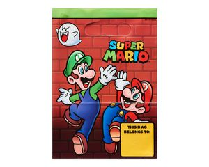 Super Mario Treat Bags, 8-Count,