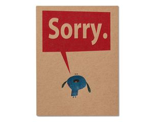 Sorry Apology Card