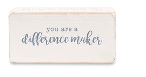 Mud Pie Inspire Teacher Sentiment Block