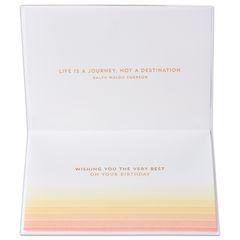 Cityscape Birthday Greeting Card