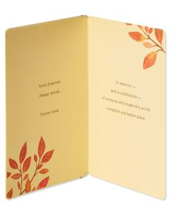 Forever Loved Sympathy Card