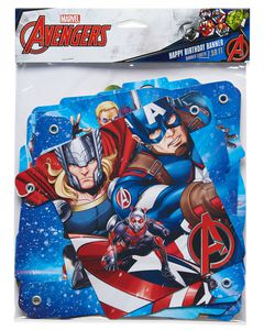 Avengers Epic Birthday Party Banner, Party Supplies