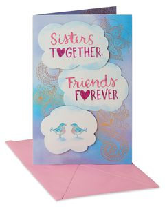 Sisters Together Mother's Day Card