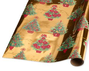 Traditional Tree Holiday Wrapping Paper
