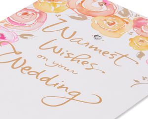 Warmest Wishes Wedding Card