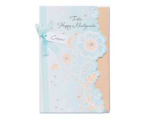 Happy Newlyweds Wedding Card