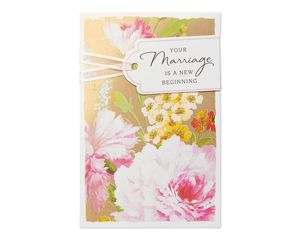New Beginning Wedding Card